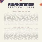 awakenings festival lineup 2016
