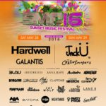 sunset music festival lineup 2016