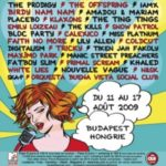 sziget festival lineup 2009