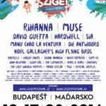 sziget festival lineup 2016