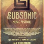 Subsonic Music Festival lineup 2015
