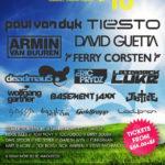 creamfields lineup 2010