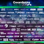 creamfields lineup 2018