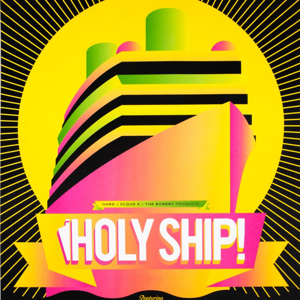 holy ship festival logo