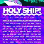 holy ship lineup 2017