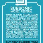 subsonic music festival 2014