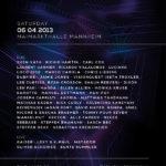 time warp lineup 2013