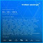 time warp lineup 2015