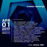 time warp lineup 2017