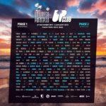 universo paralello lineup 2017-2018